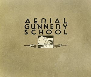 France Tours WWI US Army AEF Aerial Gunnery School Old Photo of Drawing 1918