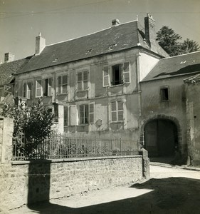 France Saint Sauveur en Puisaye Author Colette House Old Photo 1960