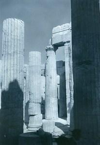 Tunisia Carthage Study Columns Architecture Old Photo Leon Lemaire 1935