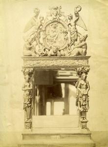 France Sculpture Objet Sculpte Ancienne Photo 1890