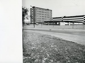 France Villeneuve d'Ascq Cité Scientifique Industrial Institute old Photo 1970