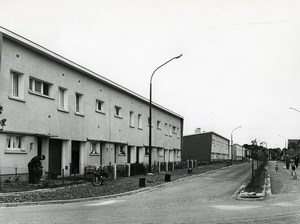 France Villeneuve d'Ascq Flers lez lille Sarts District Housing Old Photo 1962