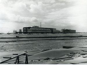 France Grande Synthe Usinor Steel Factory Industry Old Photo 1962
