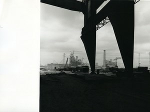 France Dunkerque Dunkirk Steel factory Industry Old Photo 1962