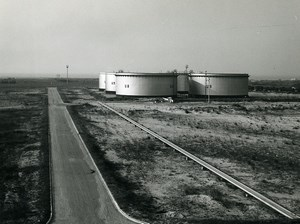 France Saint Pol sur Mer Oil Refinery BP Old Photo 1959