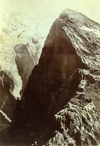 France Alps Haute-Savoie Brevent Summit Old Photo Villeneuve 1900