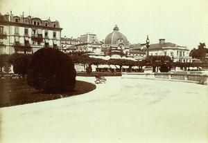 Switzerland Geneva Kursaal Grand Casino Theatre Old Photo Villeneuve 1900