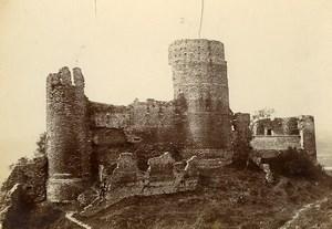 France Vienne La Batie Feudal castle Ruins Old Photo Villeneuve 1900