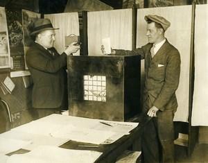 Chicago Election John Weldman photographié par Thomas Tracy Ancienne photo 1928