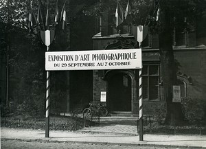 France Lille Palais Rihour Exposition Photo Club Photographie Ancienne Photo 1950