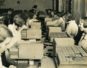 Royaume Uni Ilford Fabrication du film et papier photographique Selo Ancienne Photo 1930