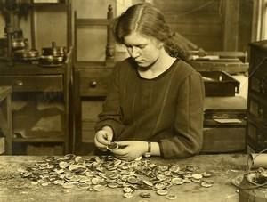 Royaume Uni Fabrique de Pins Photographiques Prince de Galles Ancienne Photo 1930