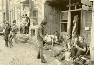 New York Mountaindale Bach to Rock Festival Cancellation Old Photo 1970