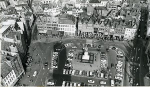 Belgium Bruges Historical Flemish City Grand Place Old Art Photo Deplechin 1970