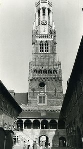 Belgique Bruges Cité Historique Flamande Befroi Ancienne Photo Art Deplechin 1970