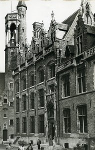 Belgium Bruges Historical Flemish City Gruuthuse Old Art Photo Deplechin 1970