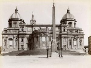 Italie Rome Basilique Santa Maria Maggiore Sainte-Marie-Majeure Ancienne Photo 1880