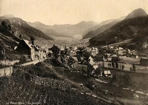 France Auvergne Le Mont Dore Panorama Ancienne Photo 1890