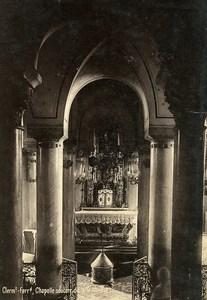 Auvergne Clermont Ferrand chapelle souterraine Notre Dame du Port Ancienne Photo 1890