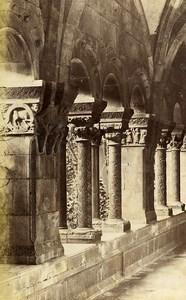 France Elne Cloitre Arches Architecture Ancienne Photo 1890