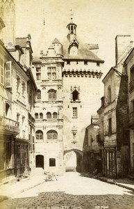 France Loches City Hall & Albi Cathedral Rood screen 2 Old Photos 1890