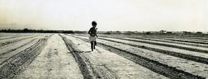 Israel Amiram le petit Israelien Enfant Ancienne photo Francis Maziere 1969