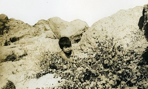 Israel Amiram Little Israeli Boy Child Old Photo Francis Maziere 1969