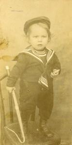 Algerie Saida la Toupie Jeu d'Enfants Jouet Ancienne Photo Bernhardt 1900