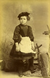 France Paris Small Basket Toy Children Game Old Allevy Photo 1900