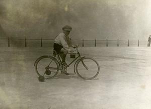 France Jeune Garcon Cycliste Velo Jeu d'Enfants Ancienne Photo Amateur 1930
