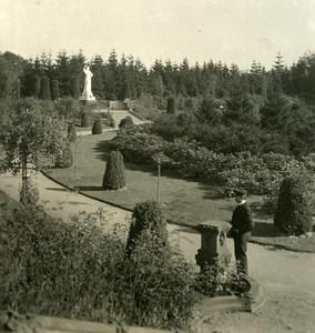 Germany Hamburg Ohlsdorf Cemetery Old NPG Stereoview Photo 1900