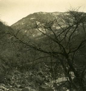 Japan Around Miyanoshita Old Stereoview Photo NPG 1900