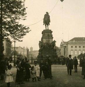 Germany Berlin Opernplatz old Stereoview Photo NPG 1900