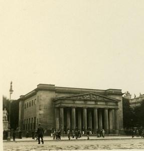 Germany Berlin Hauptwache old Stereoview Photo NPG 1900