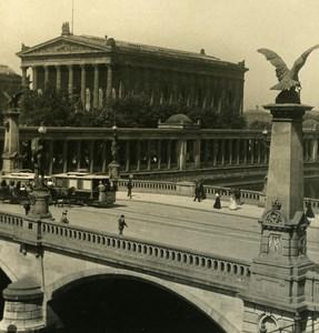 Germany Berlin National Gallery old Stereoview Photo NPG 1900