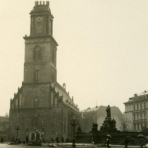 Germany Berlin Marienkirche old Stereoview Photo NPG ca 1900