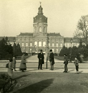 Germany Berlin Charlottenburg old Stereoview Photo NPG 1900