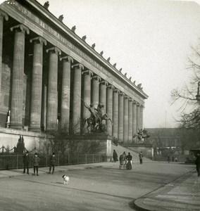 Germany Berlin Museum old Stereoview Photo NPG 1900