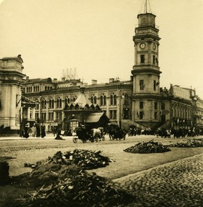 Russian Empire Saint Petersburg Newsky Perspective old Stereoview NPG Photo 1905