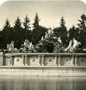 Austria Wien Schonbrunn Castle old NPG Stereo Photo 1900