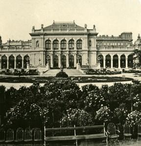 Austria Wien Kursalon old NPG Stereo Photo 1900