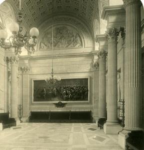 France Paris Instantaneous Palais Bourbon old NPG Stereo Photo 1900