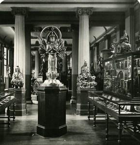France Paris Instantaneous Guimet Museum Asian Art old NPG Stereo Photo 1900