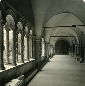 Italy Roma Archbasilica of St. John Lateran old NPG Stereo Photo 1900
