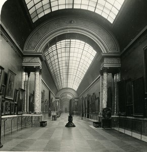 France Paris Louvre Museum Rubens Gallery Old NPG Stereo Photo 1900