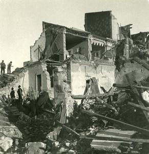 Italy Sicily Messina Earthquake Ruins Old NPG Stereo Photo 1908