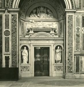 Italy Roma Church San Giovanni Laterano Old NPG Stereo Photo 1900