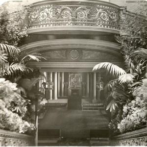 United Kingdom London Buckingham Palace Staircase Old Rotary Stereo Photo 1900