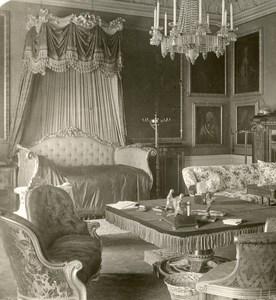 United Kingdom London Buckingham Palace Bedroom Old Rotary Stereo Photo 1900