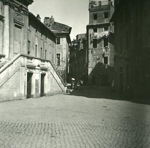 Italy Roma Tullianum Jail Mamertime old Possemiers Stereo Photo 1908